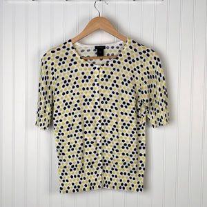 Ann Taylor Button Down Cardigan Size M
